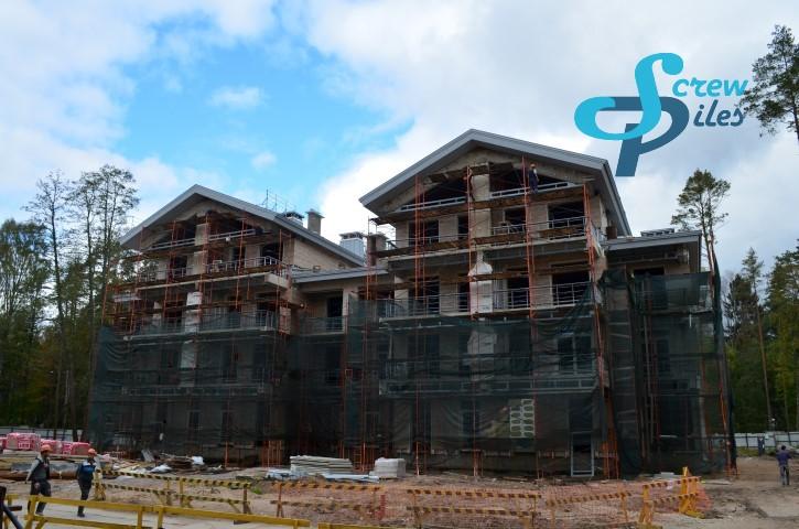 Строительство оздоровительного комплекса в Зеленогорске